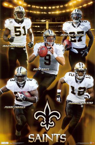 Saints - Team 2011 Plakat