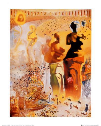 The Hallucinogenic Toreador, c.1970 Kunsttryk