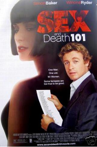 Sex And Death 101 Dobbeltsidig plakat