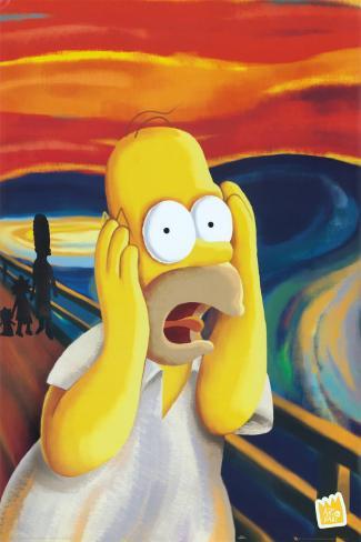 Simpsons Plakat
