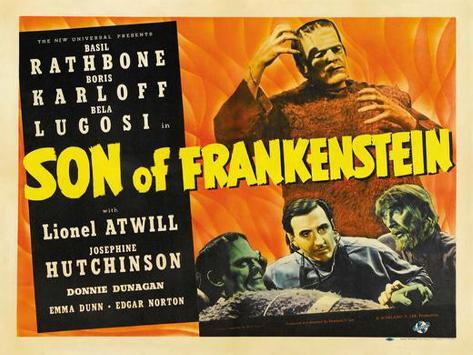 Son of Frankenstein Plakat