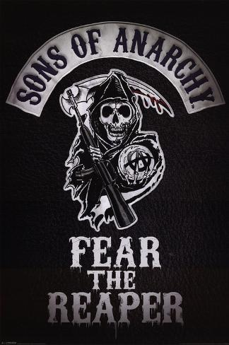 Sons of Anarchy - Fear the Reaper Plakat