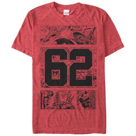 Spiderman- 62 Collegiate Panels T-Shirt
