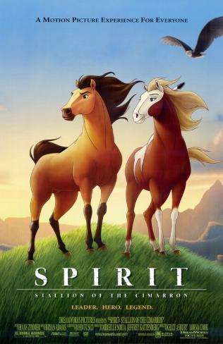 Spirit- Stallion of the Cimarron Masterprint