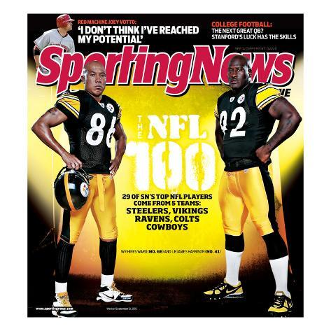 Sporting News Magazine September 13, 2010 - Ward Harrison Foto