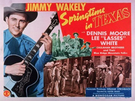 Springtime In Texas, 1945 Kunsttrykk