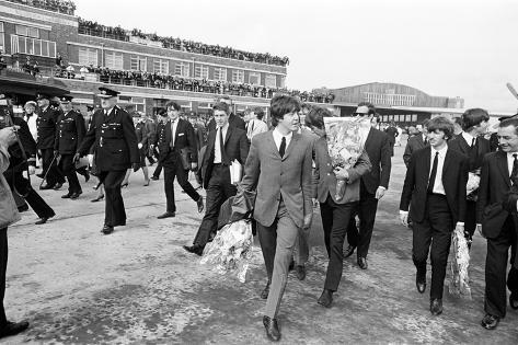 Premier of a Hard Day's Night 1964 Fotografisk trykk