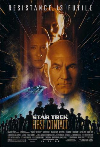 Star Trek: First Contact Mestertrykk