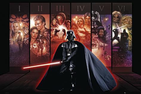 Star Wars, antologi Plakat