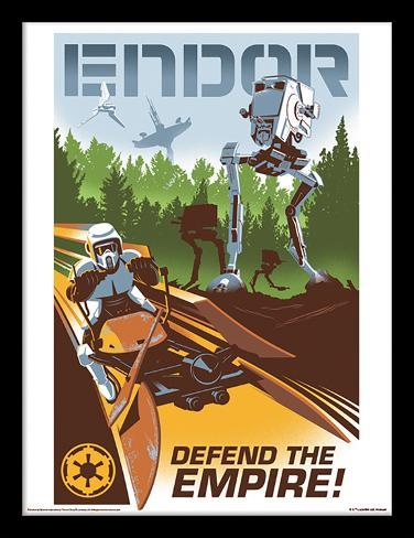 Star Wars – Endor Samletrykk