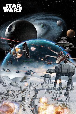 Star Wars – kamp Plakat