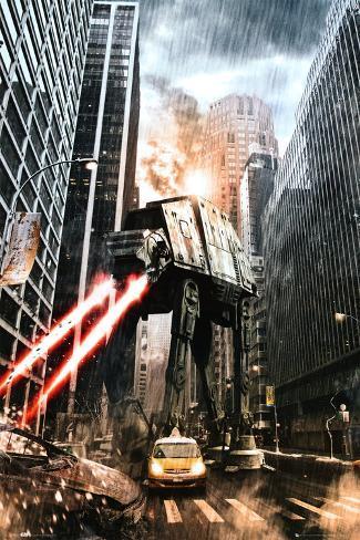 Star Wars-Manhat-atan Plakat