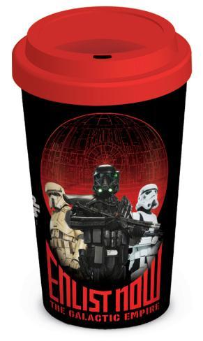 Star Wars Rogue One - Enlist Now Travel Mug Krus