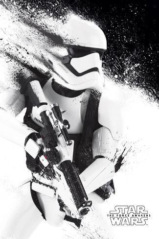 Star Wars- Stormtrooper Paint Plakat