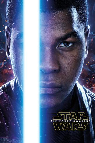 Star Wars The Force Awakens- Finn Teaser Plakat