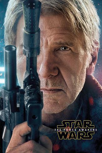 Star Wars The Force Awakens- Hans Solo Teaser Plakat