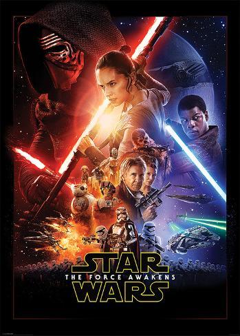 Star Wars The Force Awakens- One Sheet Kæmpeplakat