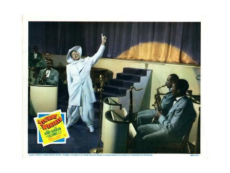 Stormy Weather, Cab Calloway (White Suit), 1943 Giclée-tryk