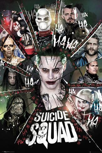 Suicide Squad- Circle Of Bad Plakat