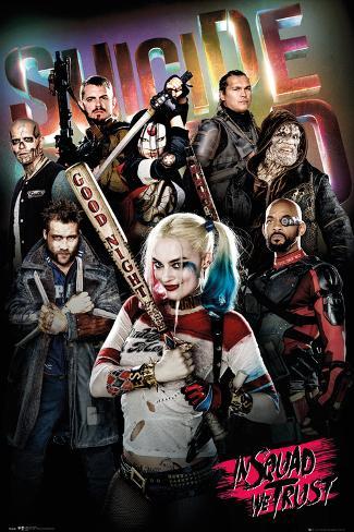 Suicide Squad- In Squad We Trust Plakat