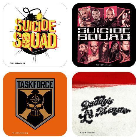 Suicide Squad Mix Coaster Set Coaster