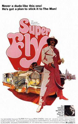 Super Fly Plakat