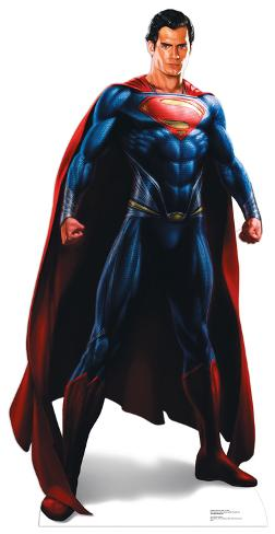 Superman - Man of Steel Lifesize Standup Pappfigurer