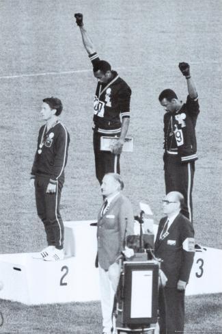 Svart makt, Mexico by OL 1968 Plakat