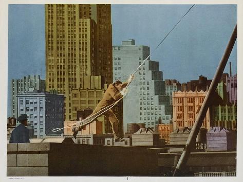 Tarzan's New York Adventure, 1942 Kunsttrykk