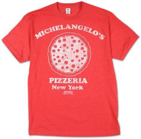Teenage Mutant Ninja Turtles -  Michelangelo's Pizzeria (Slim Fit) T-skjorte