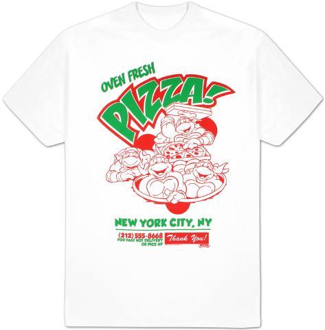 Teenage Mutant Ninja Turtles - Oven Fresh Pizza T-skjorte