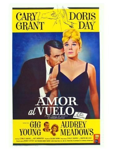 That Touch of Mink, Argentine Movie Poster, 1962 Kunsttryk