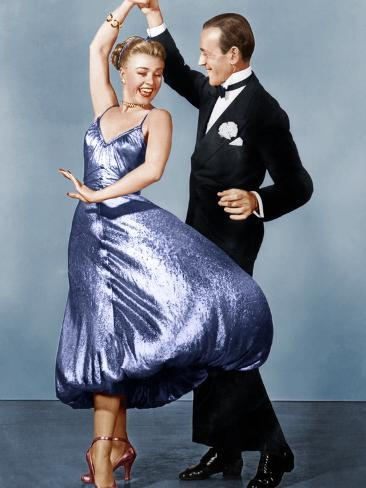 THE BARKLEYS OF BROADWAY, from left: Ginger Rogers, Fred Astaire, 1949 Foto