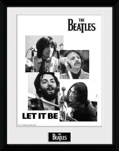 The Beatles- Let It Be Collage Samletrykk