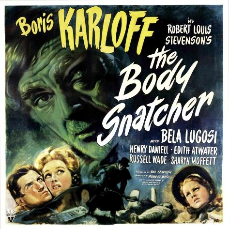 The Body Snatcher, Boris Karloff (Top), Sharyn Moffett (Bottom, Right), 1945 Foto