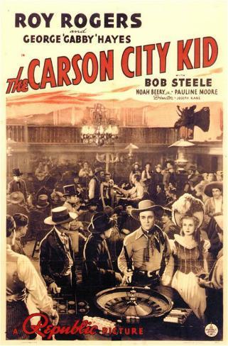 The Carson City Kid Mestertrykk
