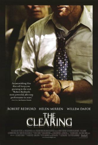 The Clearing Dobbeltsidet plakat