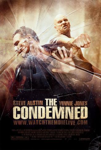 The Condemned Dobbeltsidet plakat