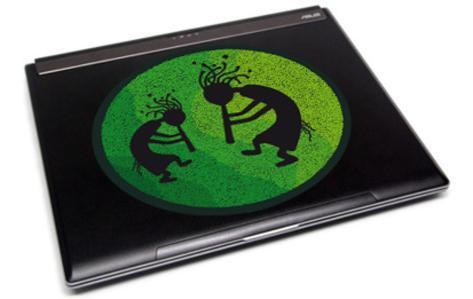 The Digeridoo Players-Laptop Sticker Klistremerker for bærbar PC