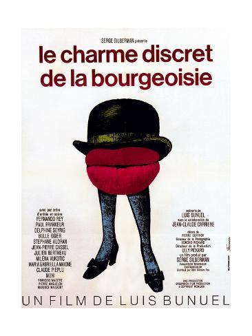 The Discreet Charm of the Bourgeoisie, (aka Le Charme Discret De La Bourgeoisie), 1972 Giclee-trykk