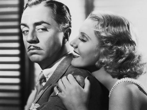 The Ex-Mrs. Bradford, from Left: William Powell, Jean Arthur, 1936 Foto
