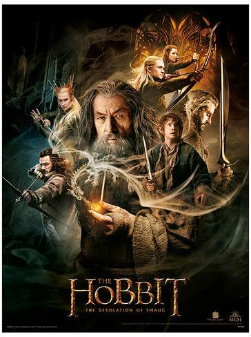 The Hobbit Desolation of Smaug Mestertrykk