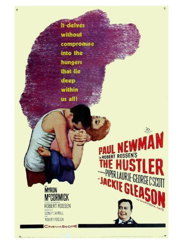 The Hustler, 1961 Kunsttrykk