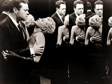 The Lady From Shanghai, Orson Welles, Rita Hayworth, 1947 Foto