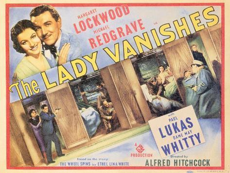 The Lady Vanishes, 1938 Kunsttrykk