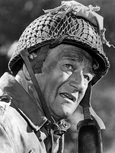 The Longest Day, John Wayne, 1962 Foto