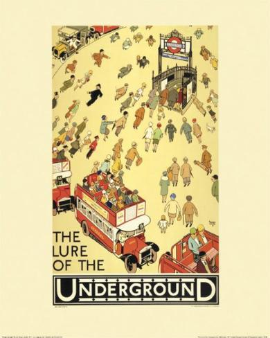 The Lure of the Underground Kunsttryk
