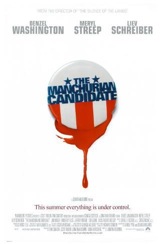 The Manchurian Candidate Dobbeltsidet plakat