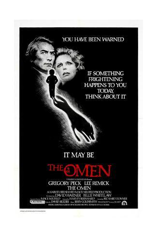 The Omen, Gregory Peck, 1976 Giclée-tryk