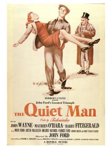 The Quiet Man, 1952 Premium Giclée-tryk